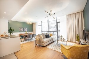 Modern Interior Newly Furnished 1 Bed in City Walk