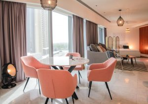 Home-Style Studio in Central Park Tower, DIFC